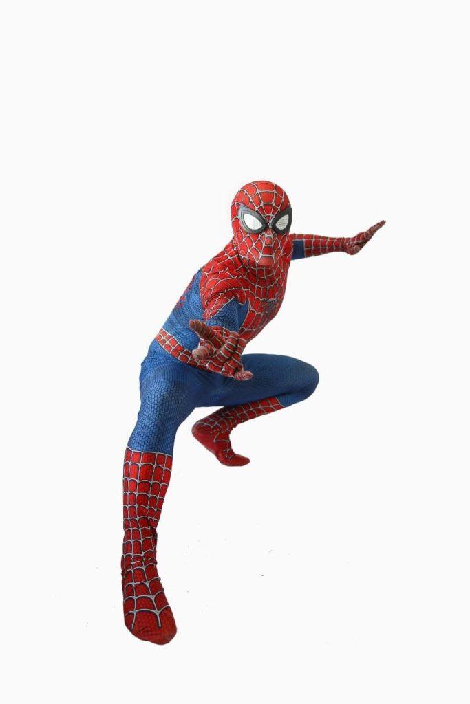 Аниматор человек паук на торжество